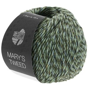 Lana Grossa MARY'S TWEED | 17-Hellblau/Mint/Loden meliert