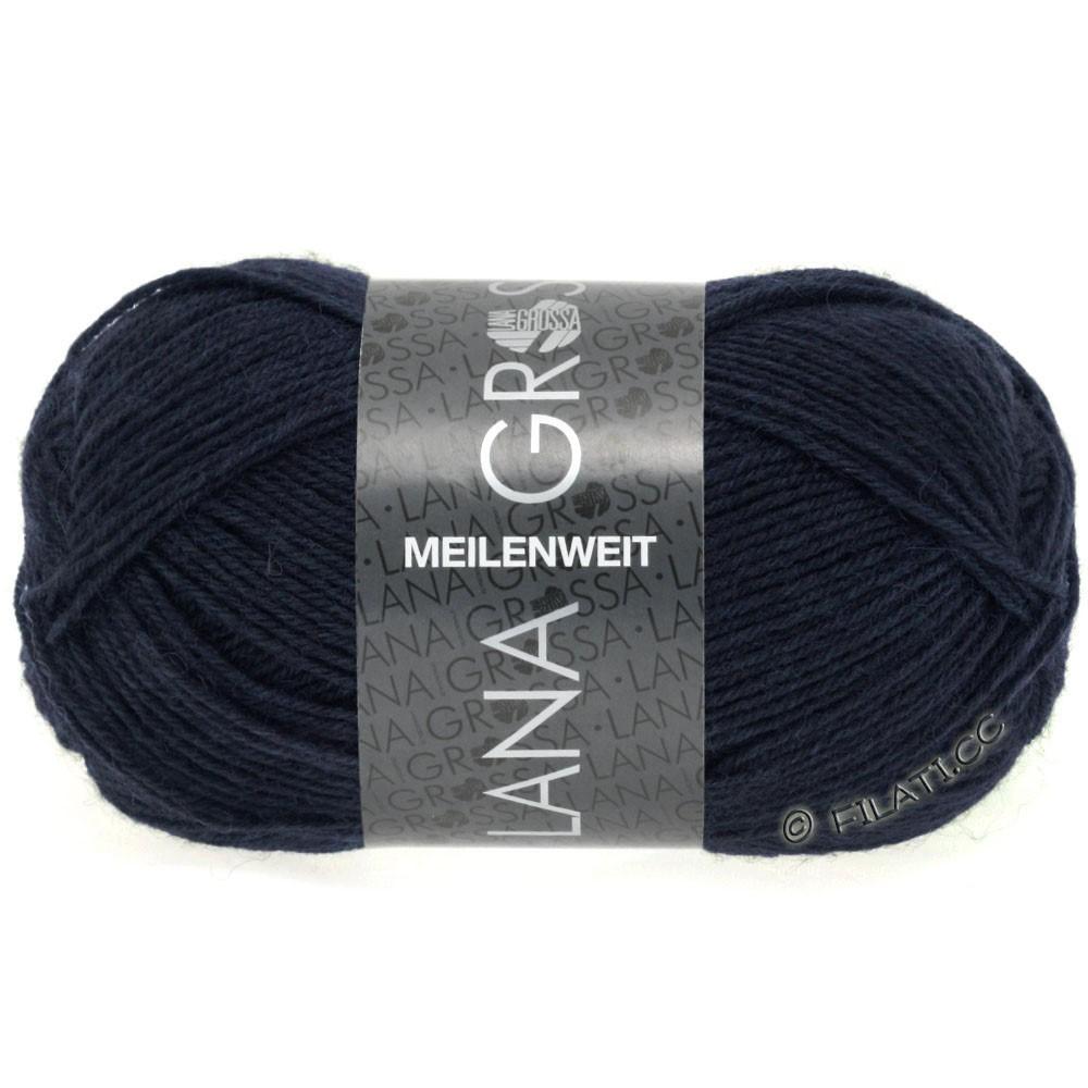 Lana Grossa MEILENWEIT 50g Uni   1141-Nachtblau
