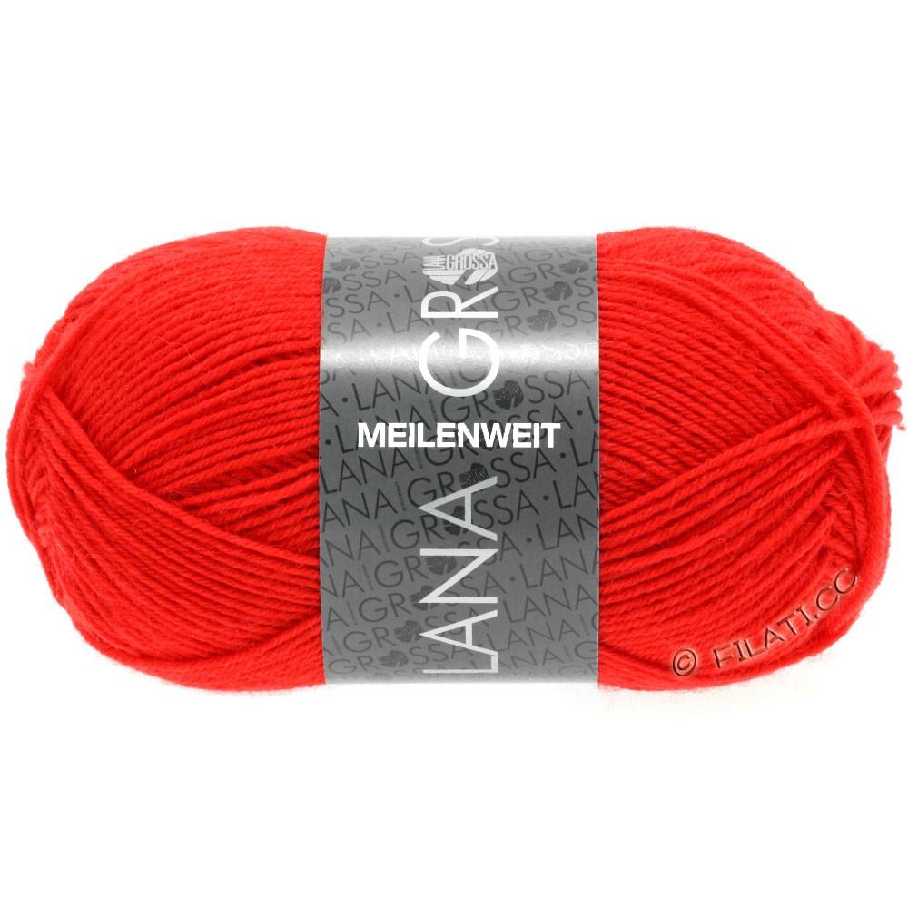 Lana Grossa MEILENWEIT 50g Uni | 1324-Hellrot
