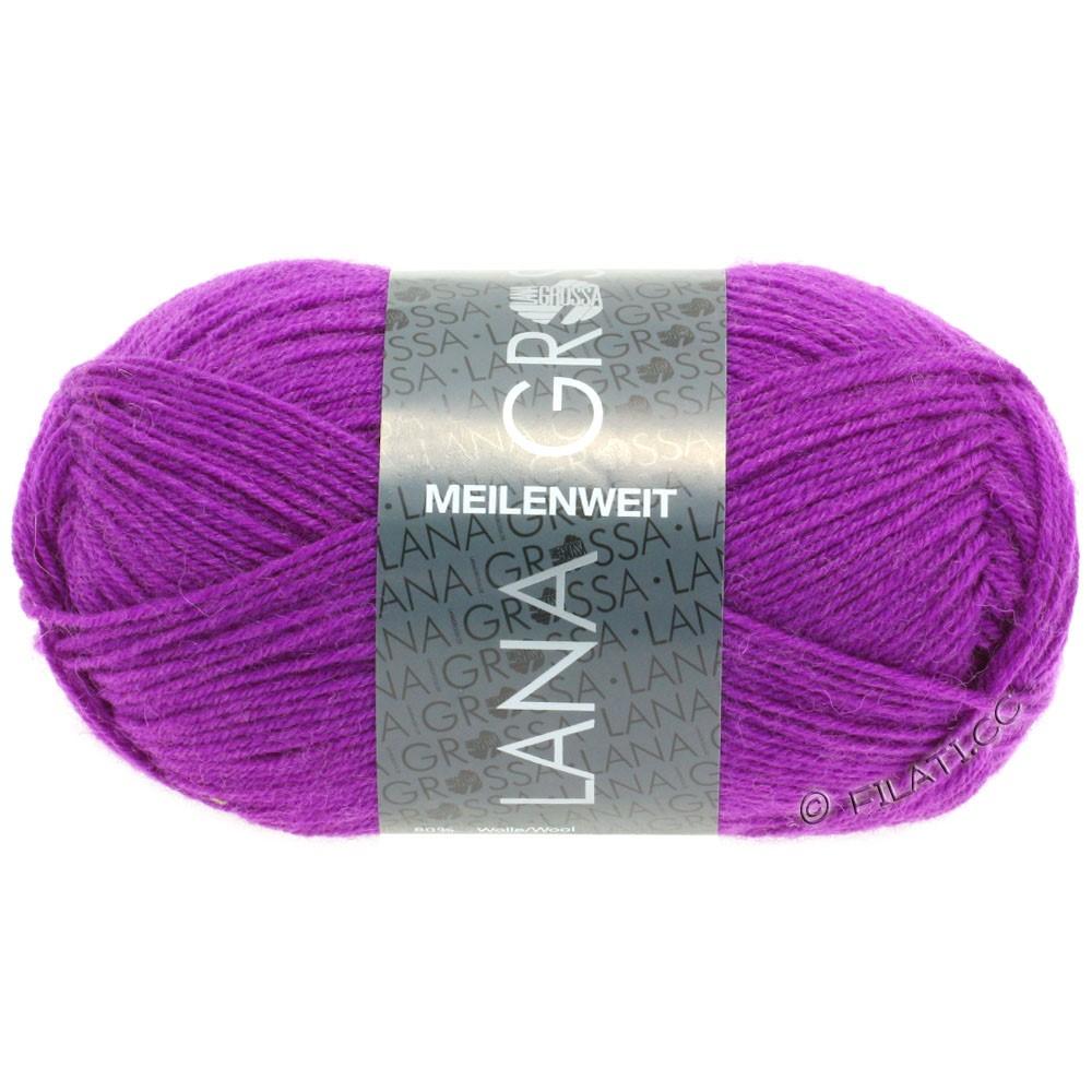 Lana Grossa MEILENWEIT 50g Uni   1361-Violett