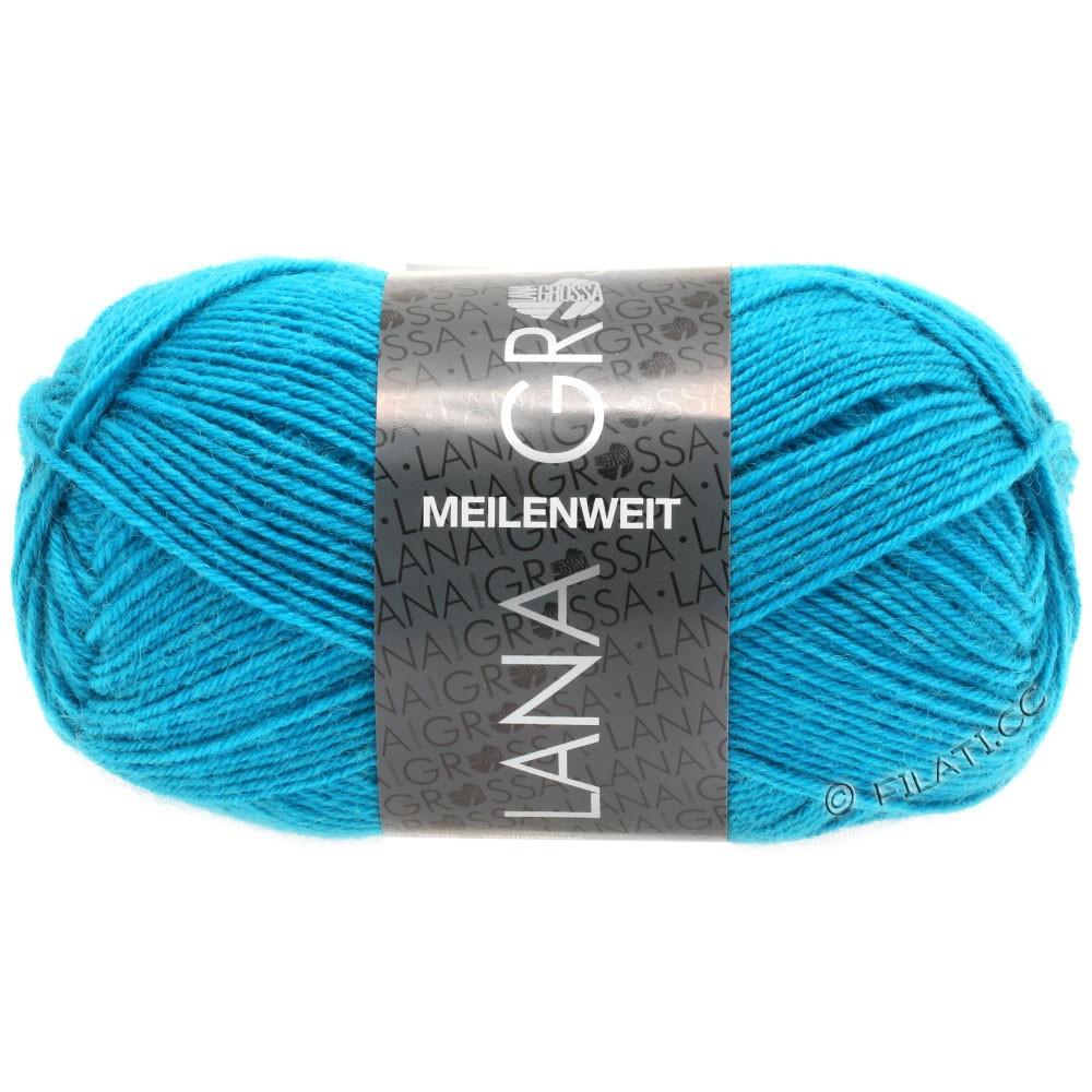 Lana Grossa MEILENWEIT 50g Uni   1366-Türkisblau