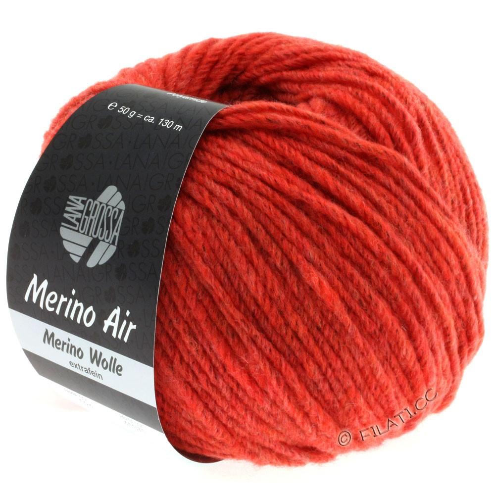 Lana Grossa MERINO AIR | 24-Tomatenrot