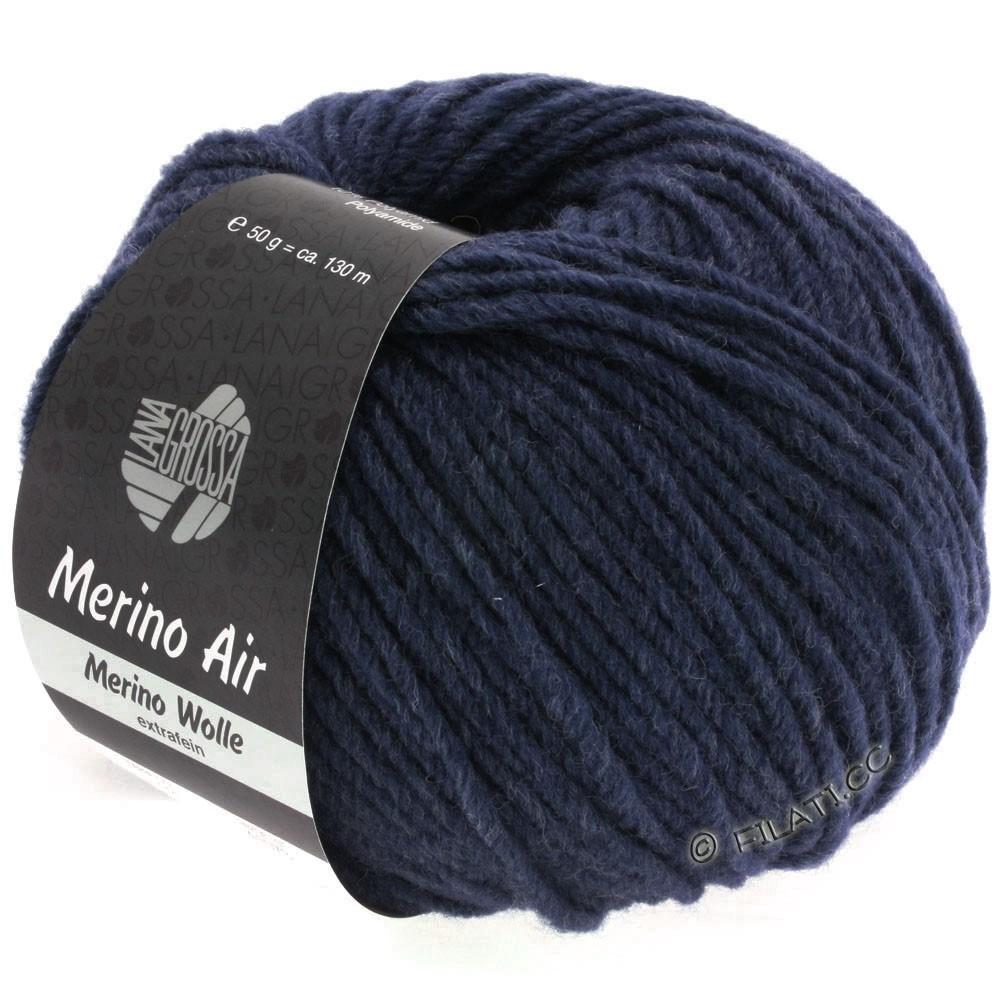 Lana Grossa MERINO AIR | 32-Nachtblau