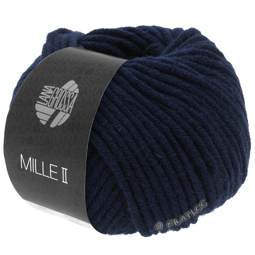 Lana Grossa MILLE II  Uni | 012-Nachtblau