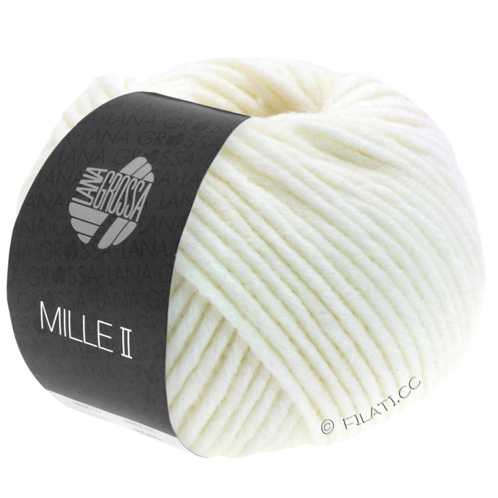 Lana Grossa MILLE II | 075-Weiß