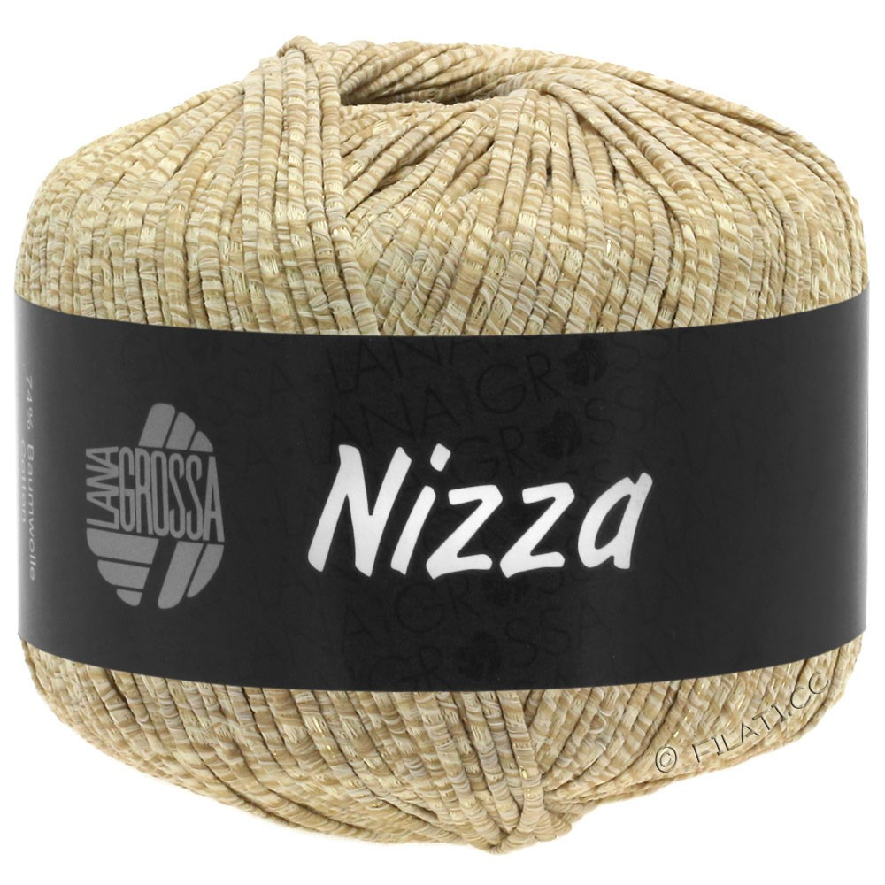 Lana Grossa NIZZA | 07-Beige/Sand/Gold