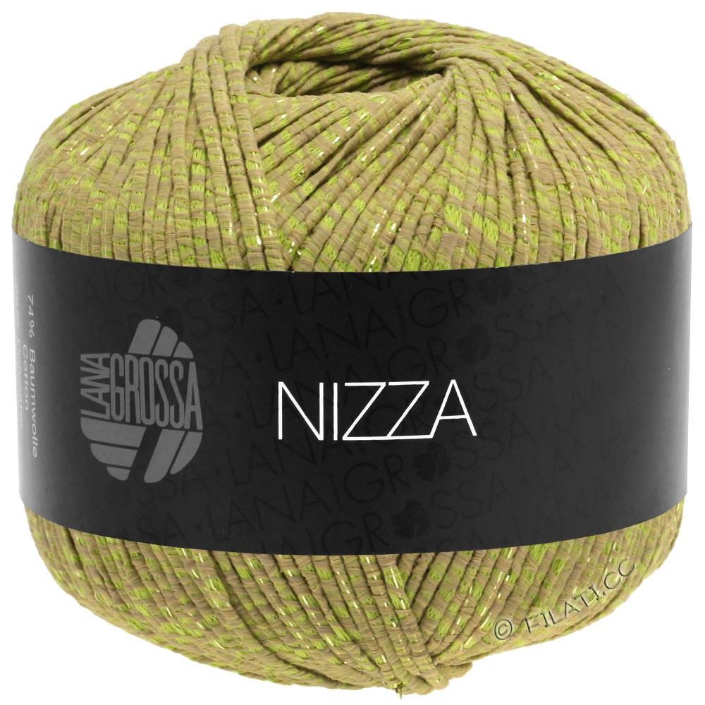 Lana Grossa NIZZA | 14-Camel/Gelbgrün/Gold