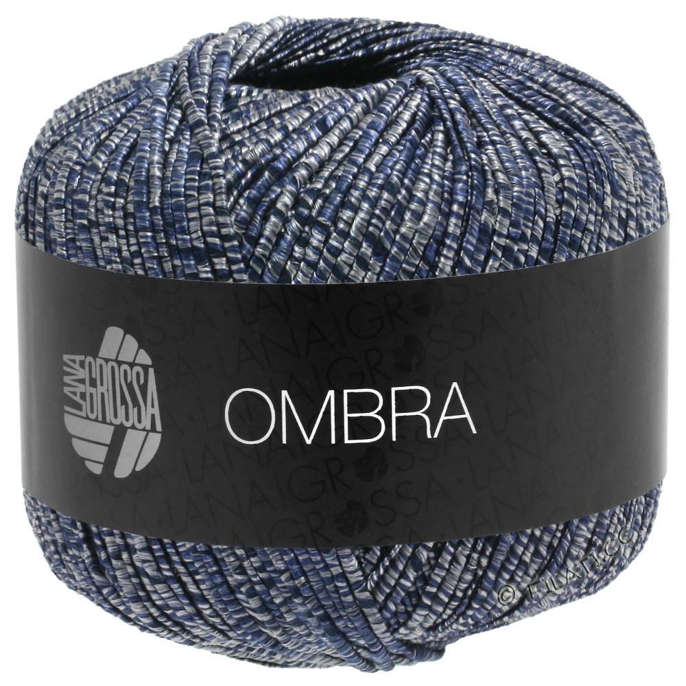 Lana Grossa OMBRA | 10-Grau/Nachtblau