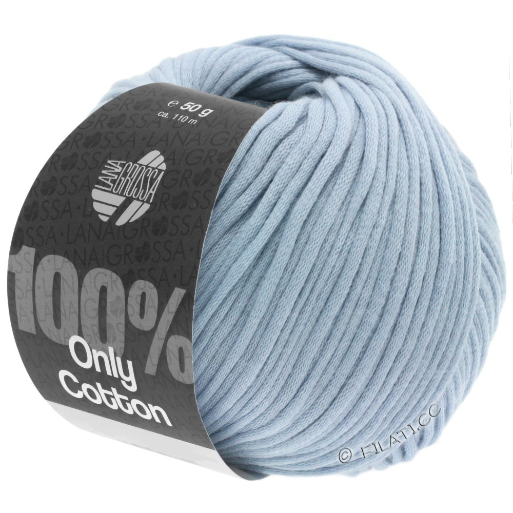 Lana Grossa ONLY COTTON | 07-Hellblau