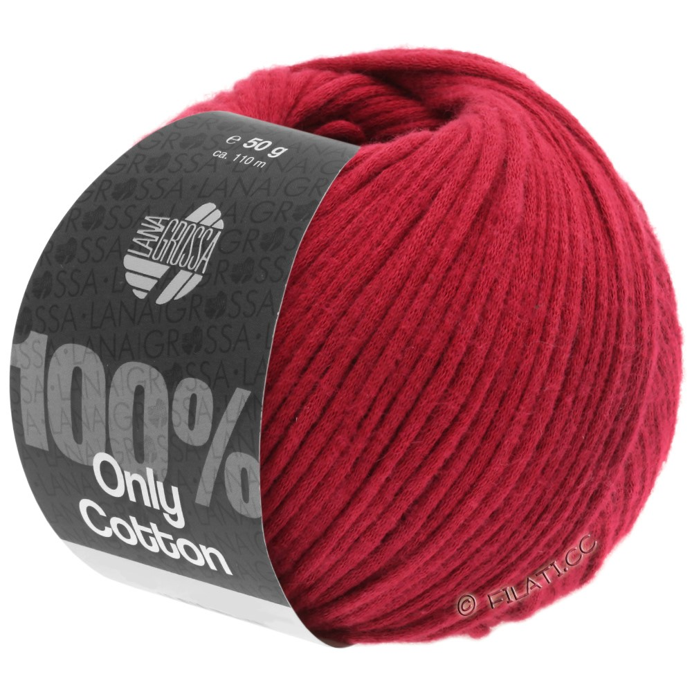 Lana Grossa ONLY COTTON | 08-Rot