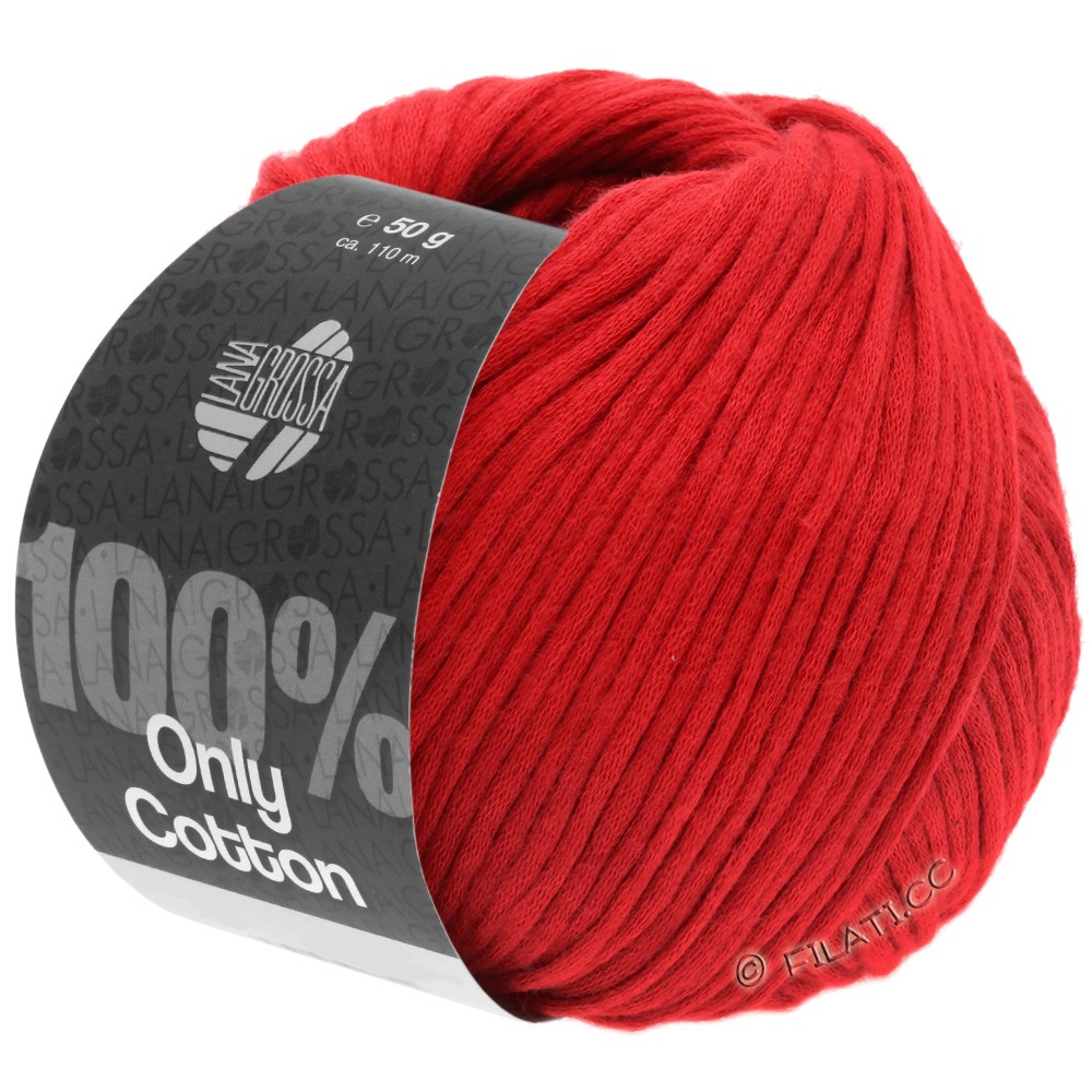 Lana Grossa ONLY COTTON | 17-Rot