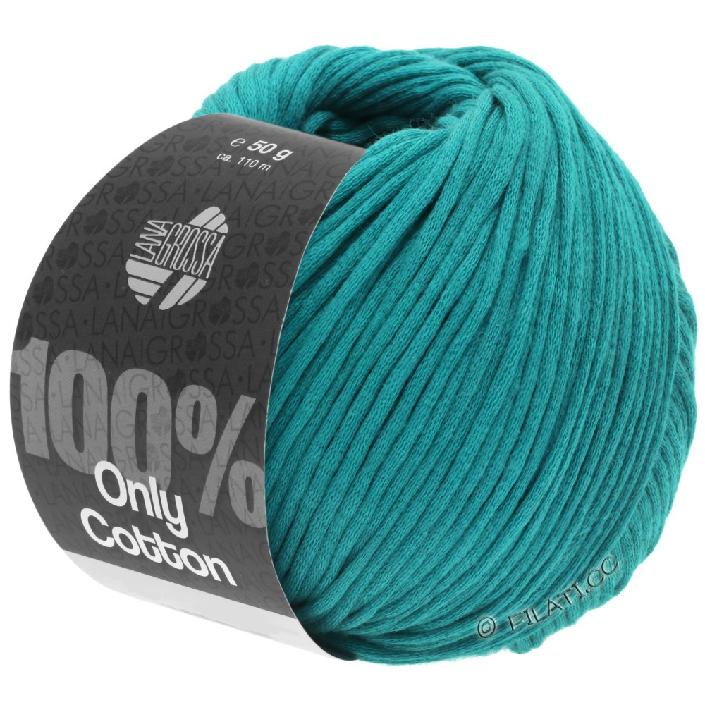 Lana Grossa ONLY COTTON | 22-Aquamarin