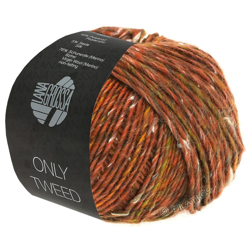 Lana Grossa ONLY TWEED | 105-Rotbraun/Olivbraun/Grau/Natur