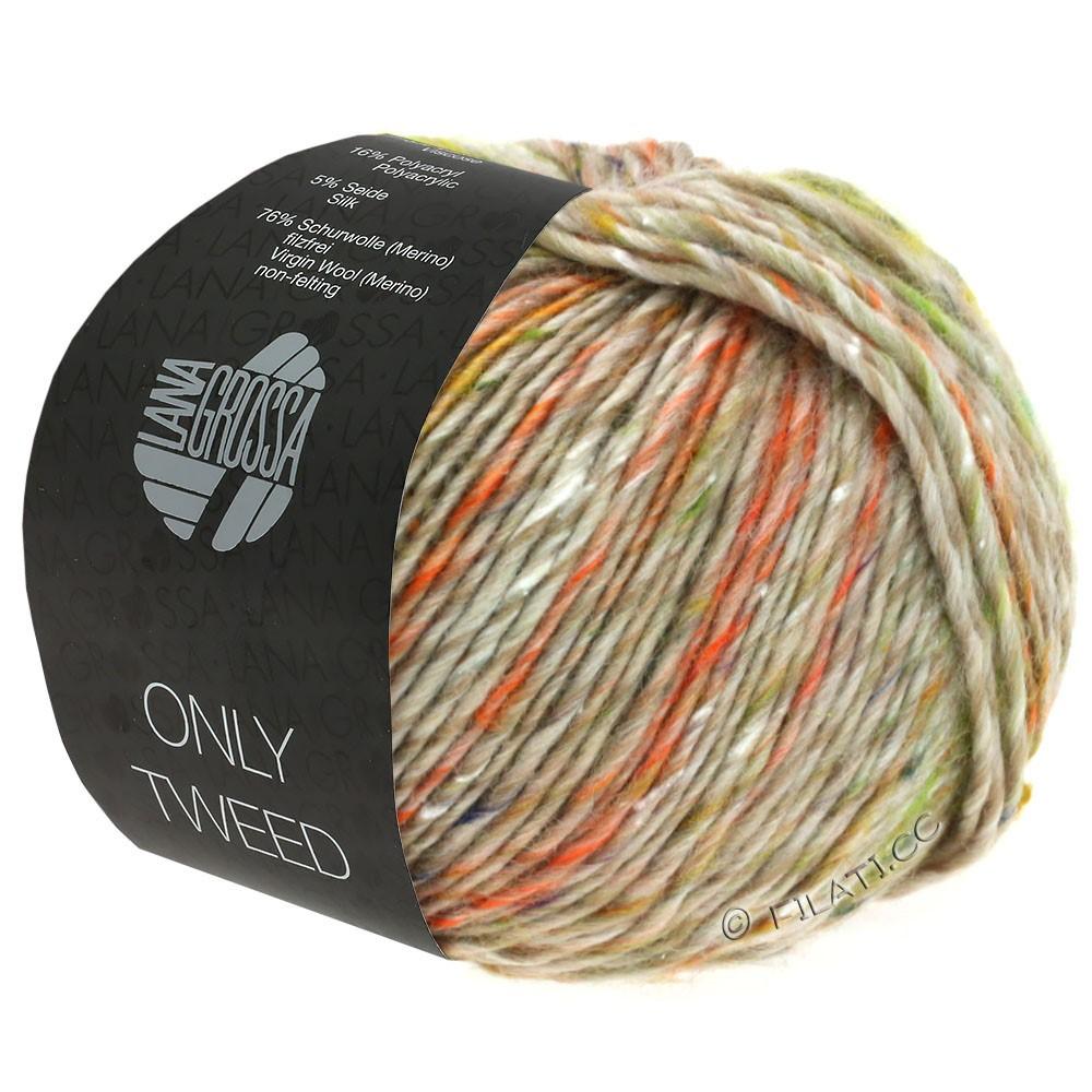 Lana Grossa ONLY TWEED | 106-Beige/Gelb/Orange