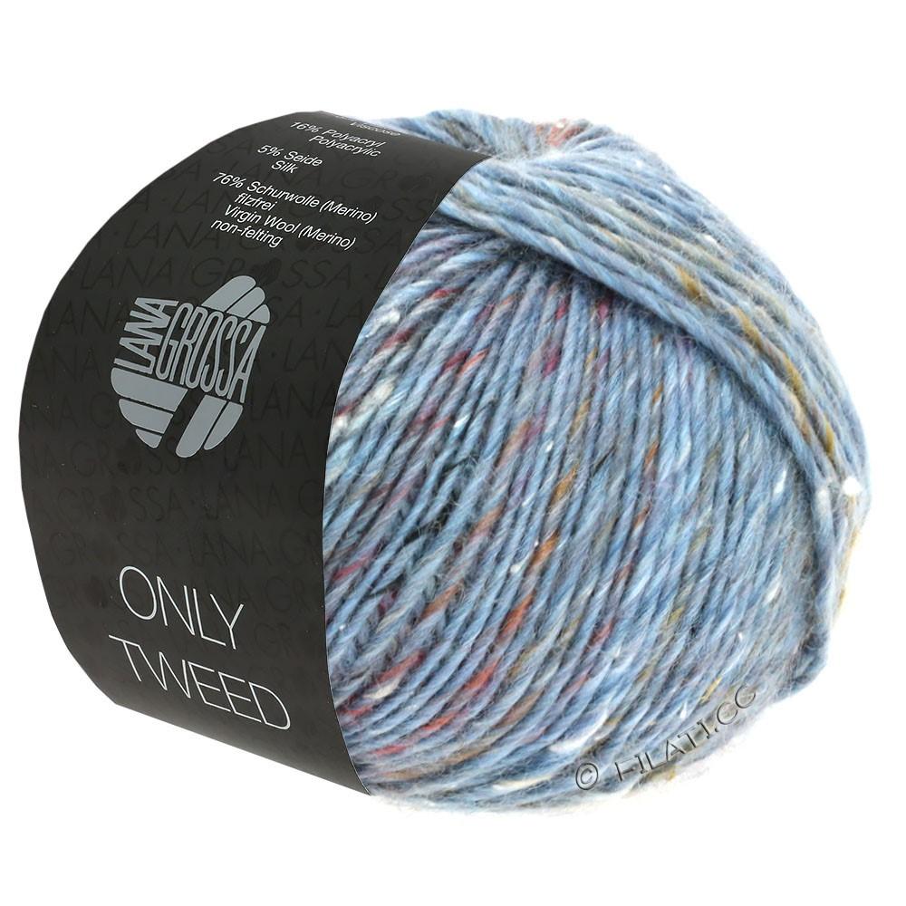 Lana Grossa ONLY TWEED | 110-Graublau/Silbergrau/Grau