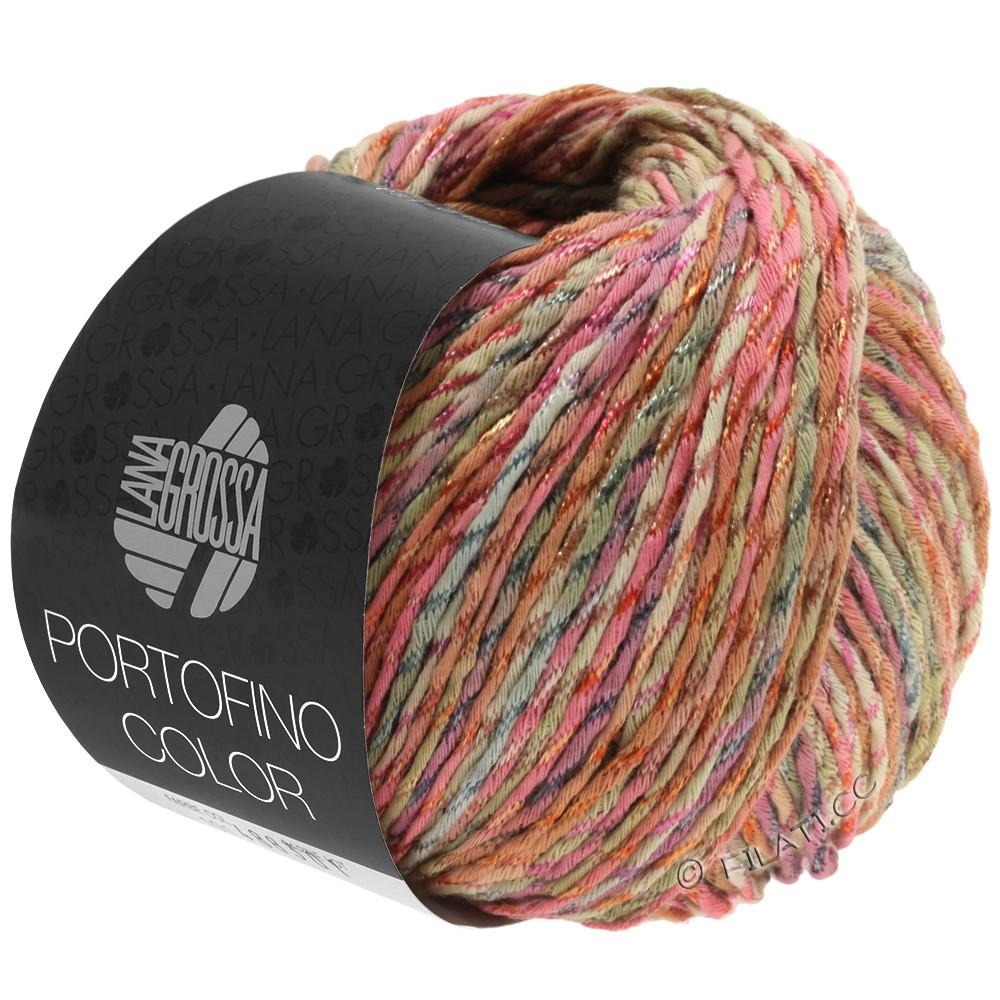 Lana Grossa PORTOFINO Color | 103-Antikrosa/Sand/Grau/Zimt