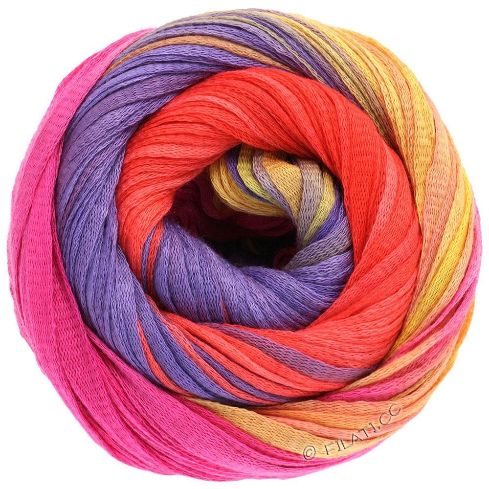 Lana Grossa PRIMAVERA | 114-Gelb/Kürbis/Pink/Violett