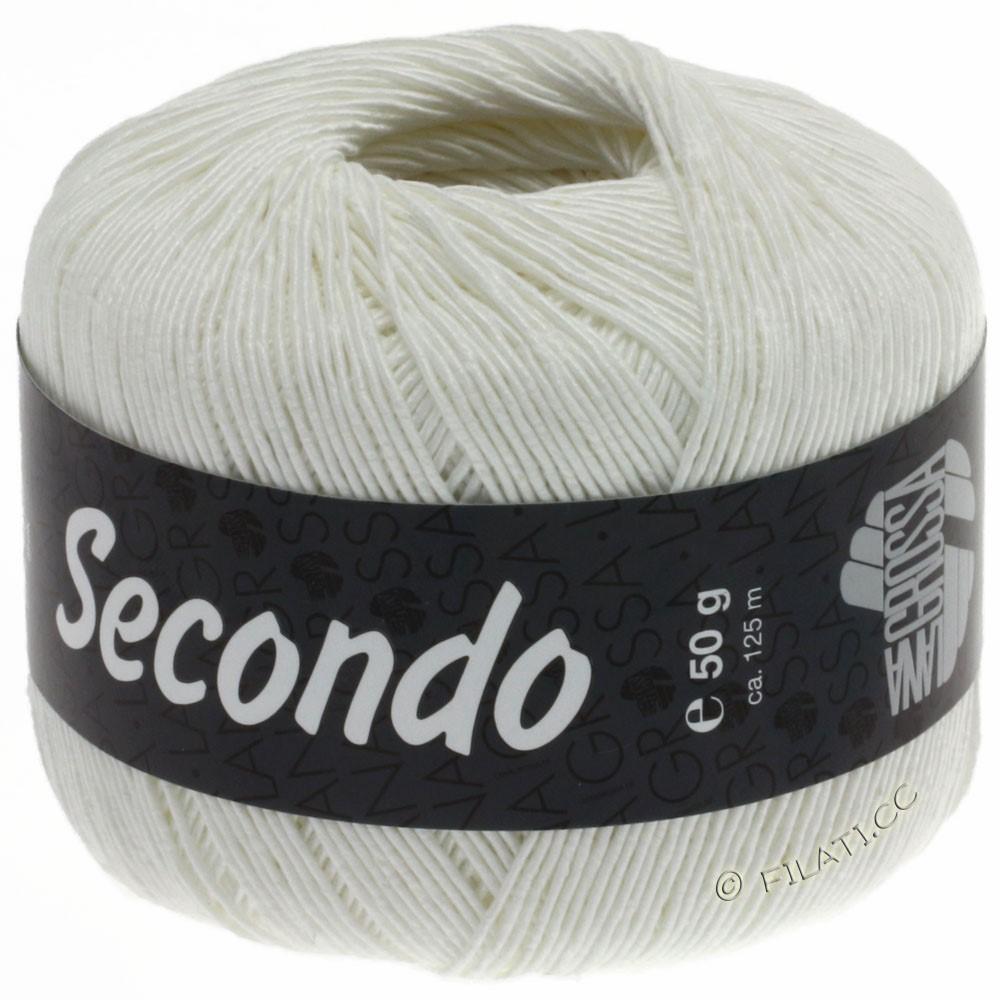 Lana Grossa SECONDO   15-Weiß