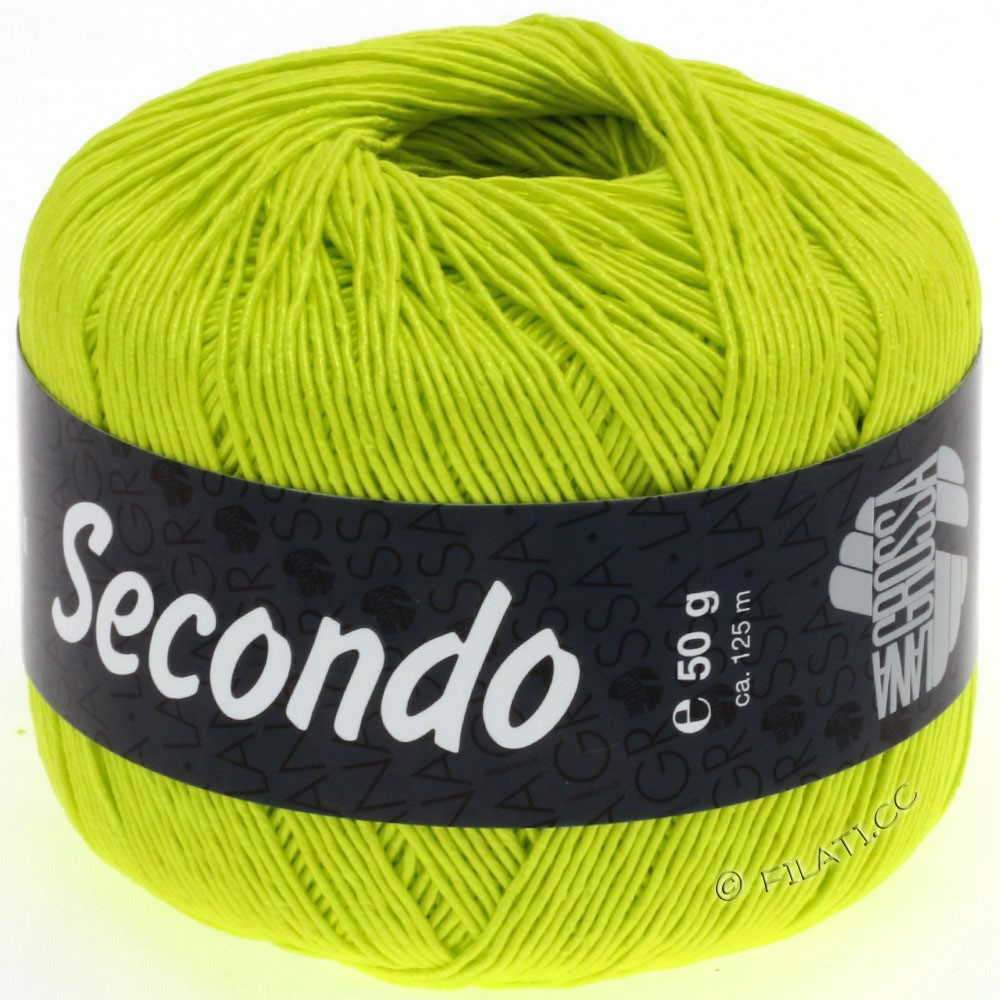 Lana Grossa SECONDO   51-Neongelb