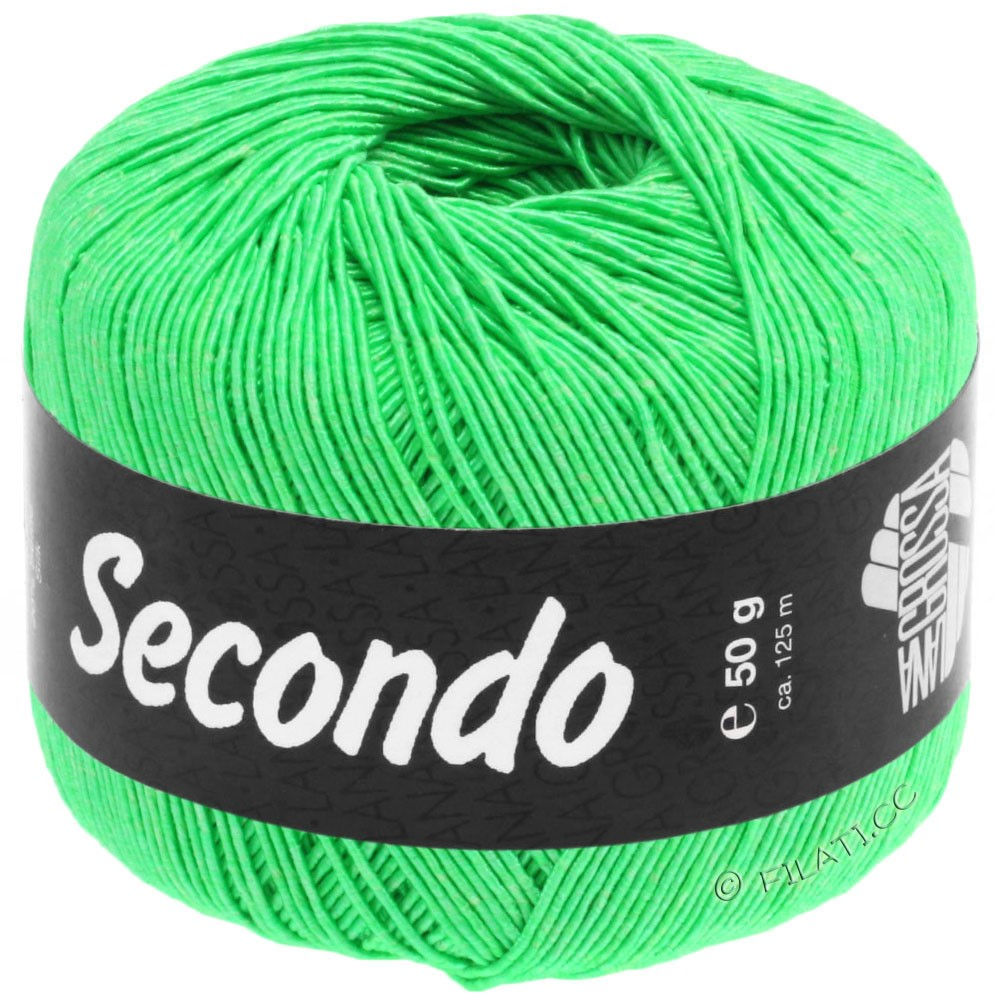 Lana Grossa SECONDO   67-Giftgrün
