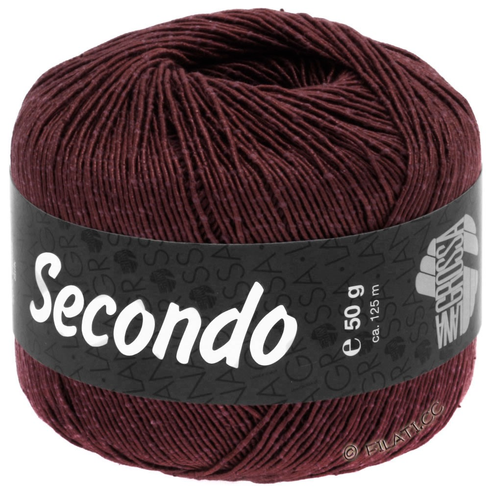 Lana Grossa SECONDO   76-Burgund