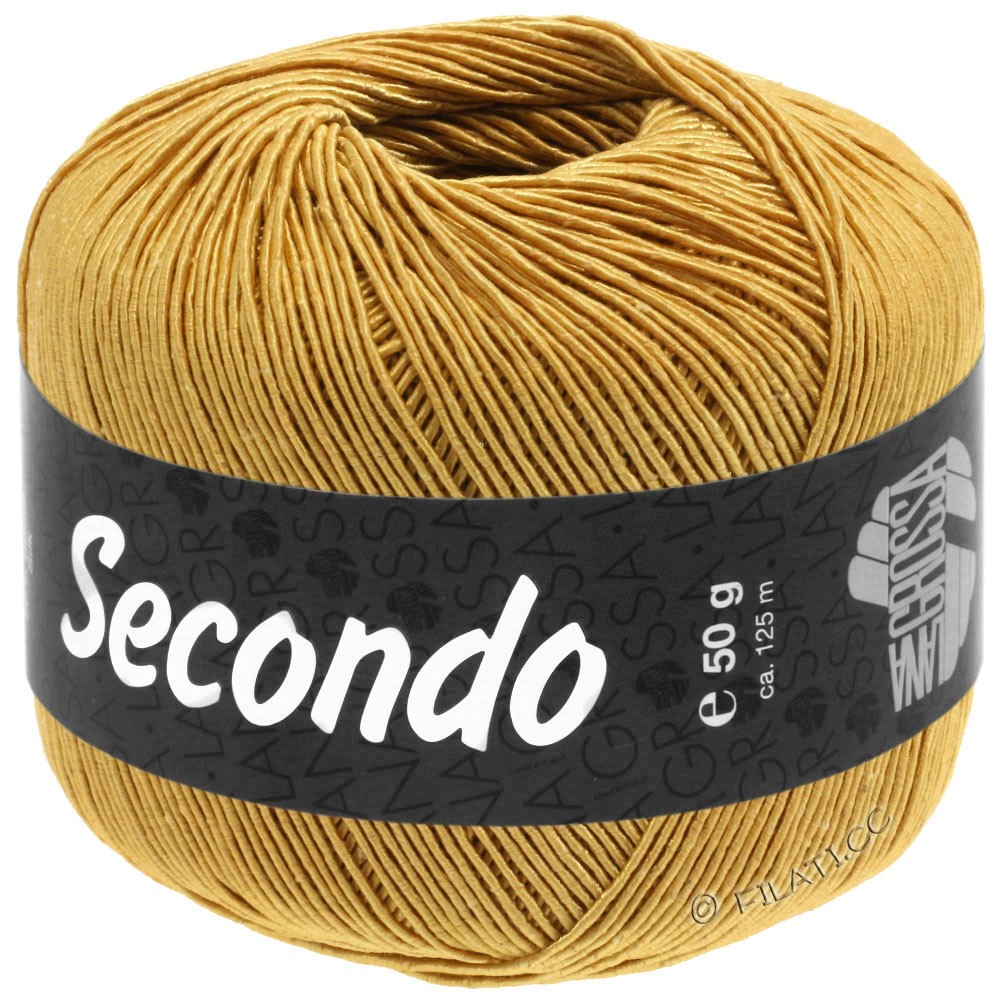 Lana Grossa SECONDO   81-Goldgelb