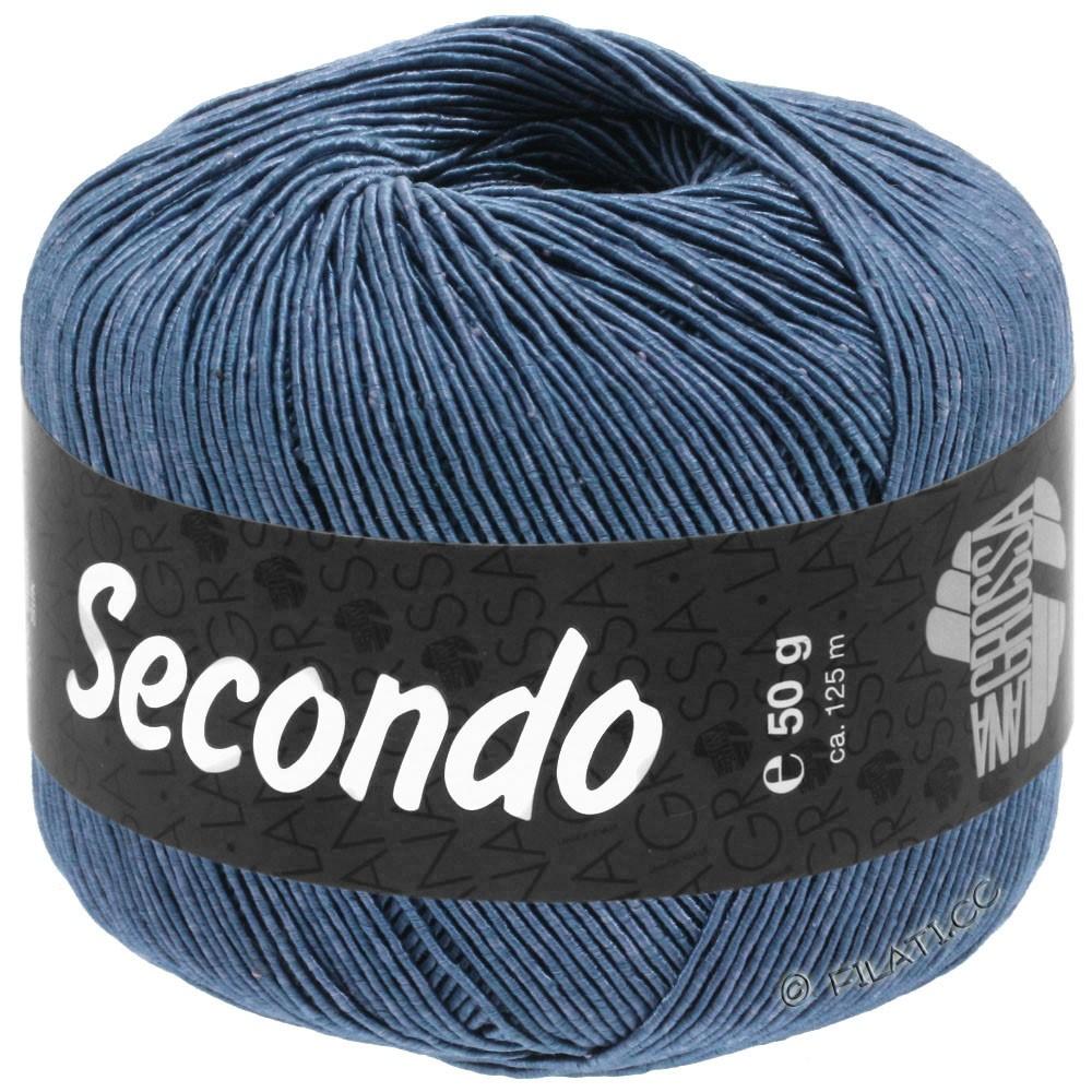 Lana Grossa SECONDO   84-Stahlblau