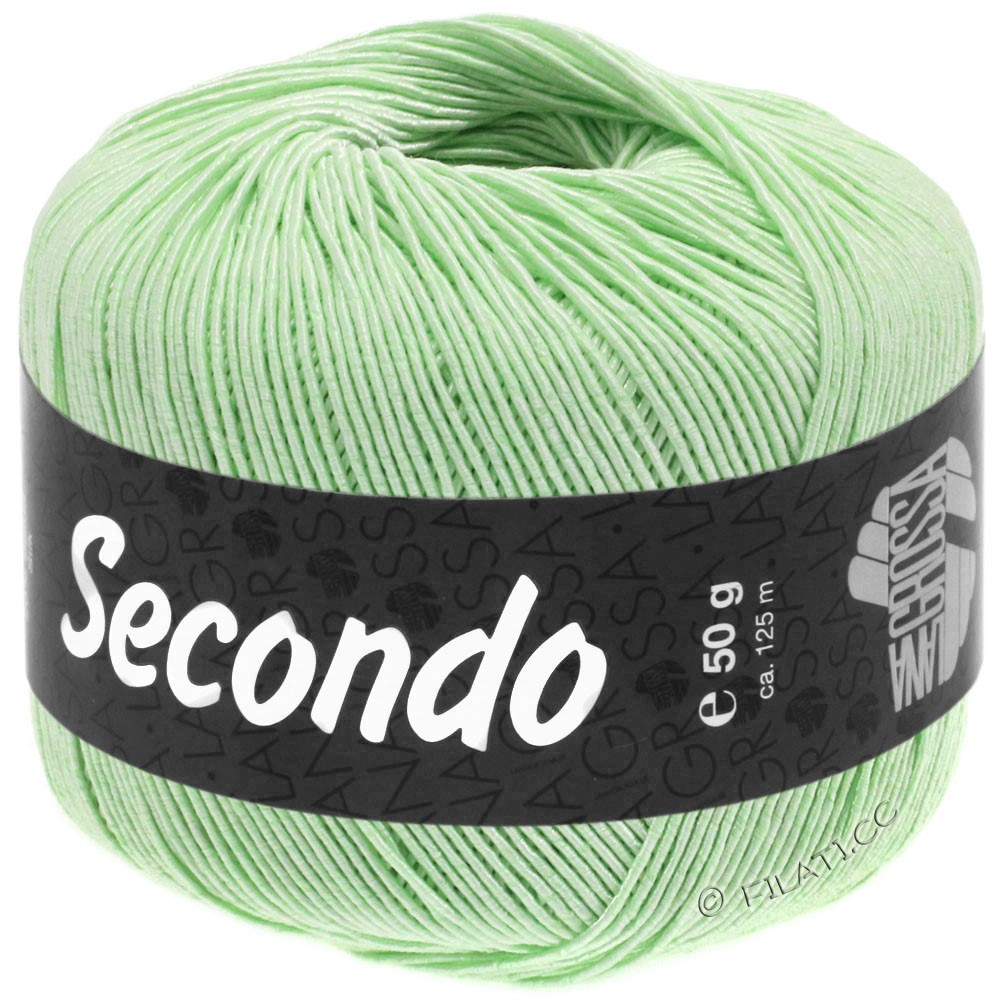 Lana Grossa SECONDO | 86-Zartgrün