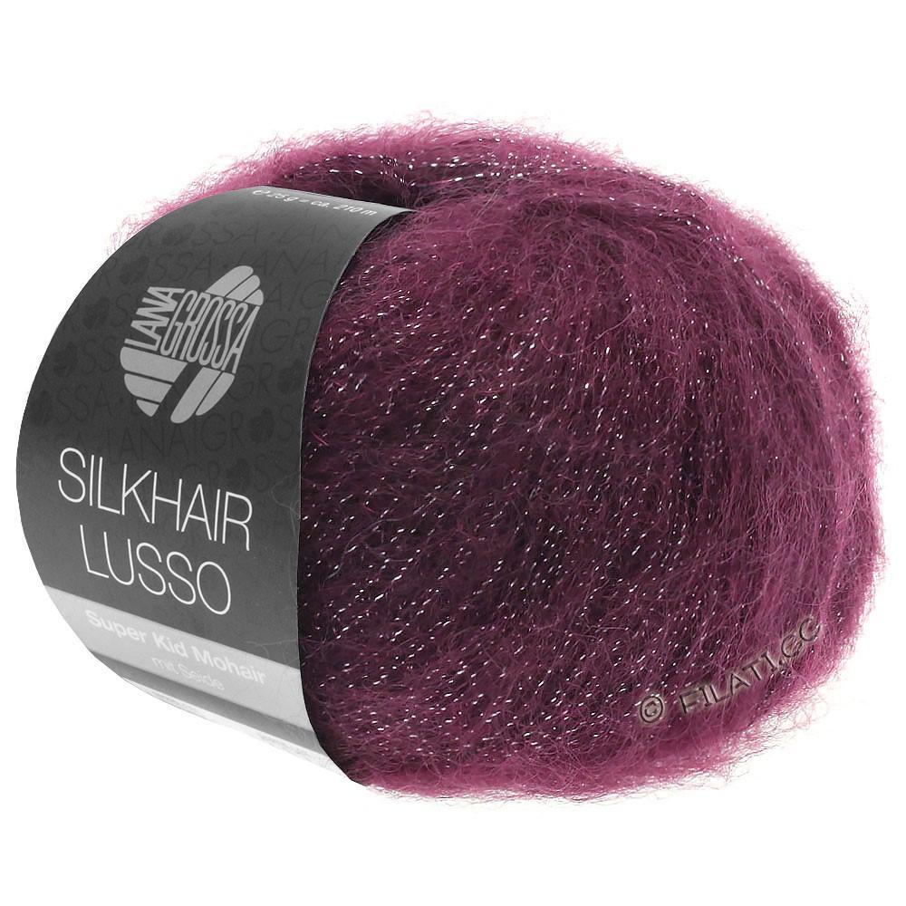 Lana Grossa SILKHAIR Lusso | 905-Burgund