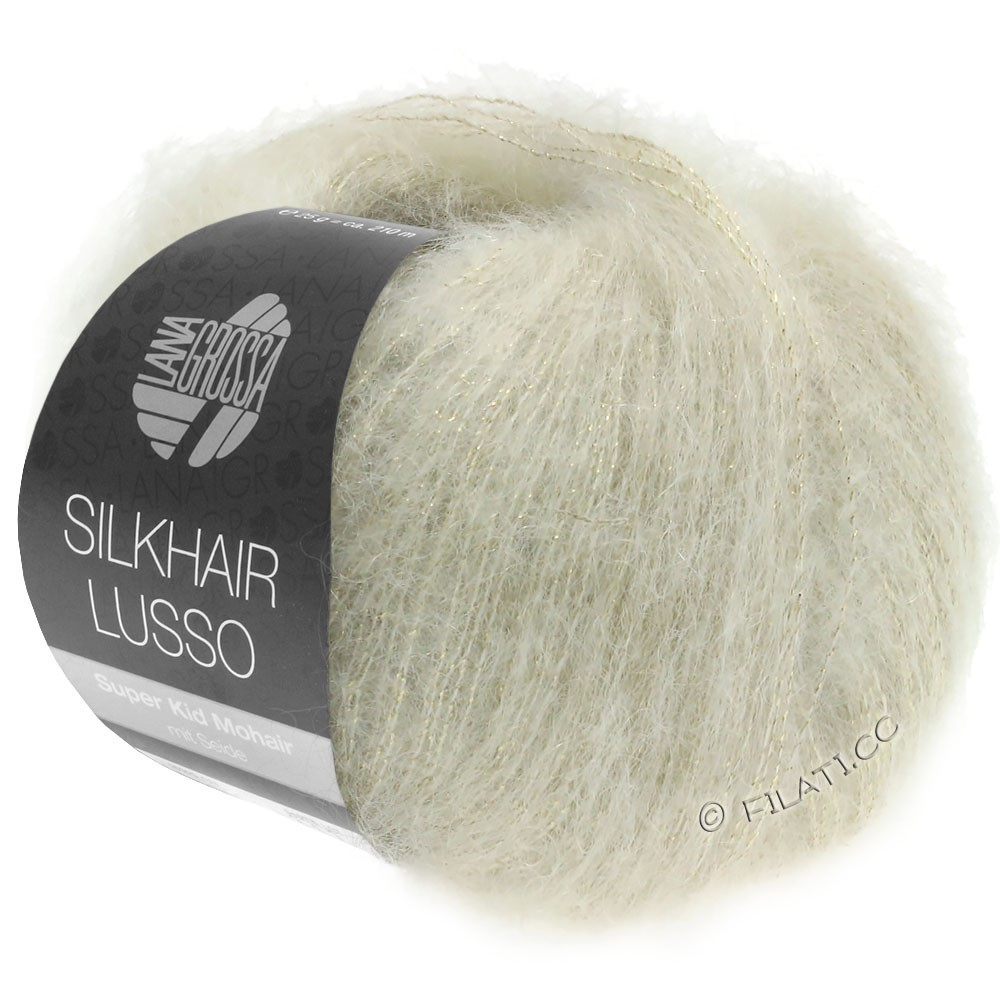 Lana Grossa SILKHAIR Lusso | 912-Natur