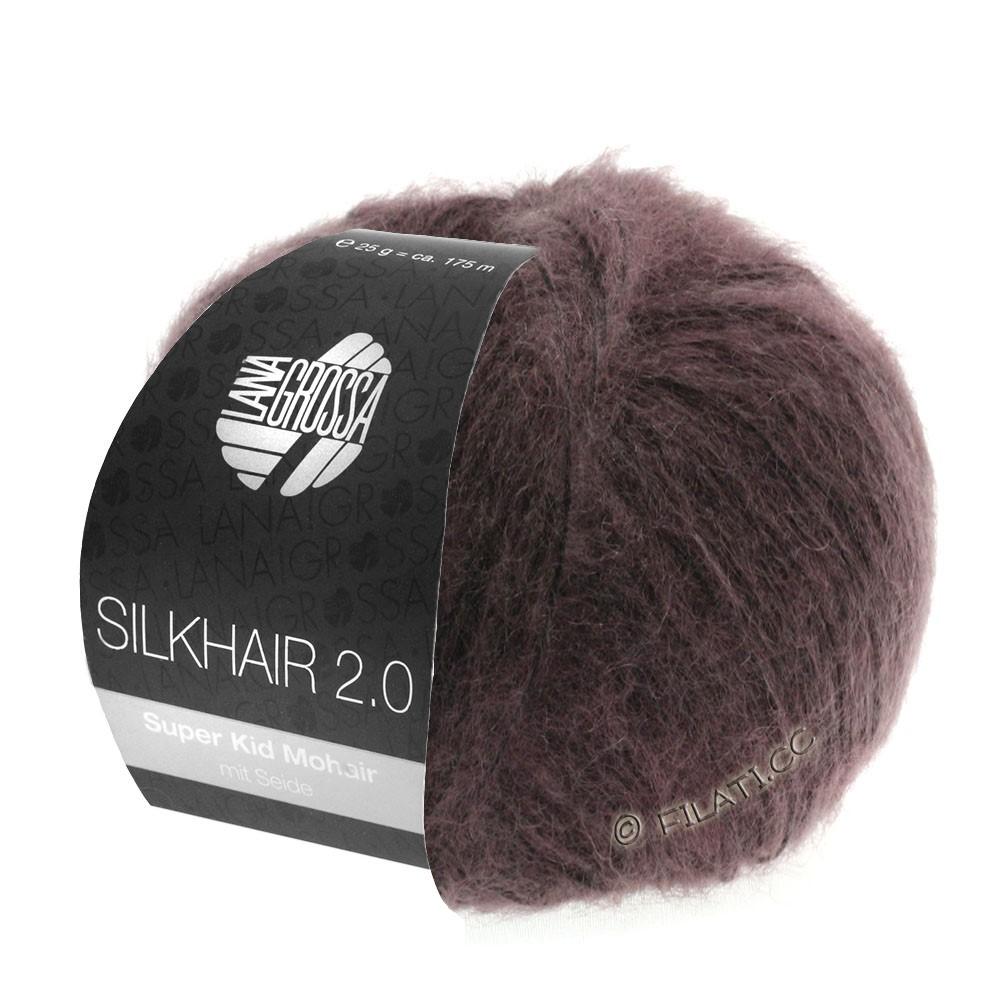 Lana Grossa SILKHAIR 2.0 | 08-Beere