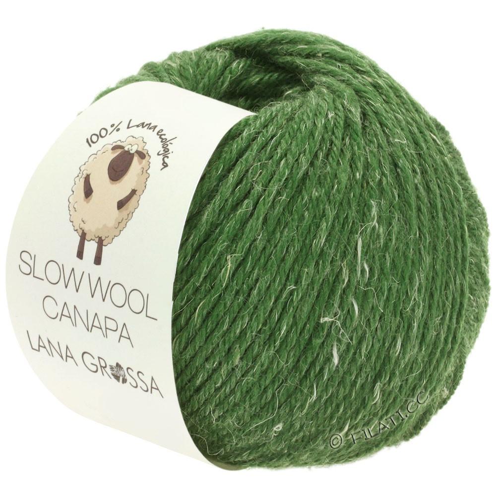 Lana Grossa SLOW WOOL CANAPA | 08-Grün