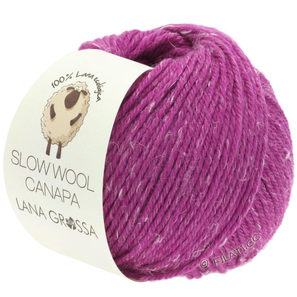 Lana Grossa SLOW WOOL CANAPA | 12-Fuchsia