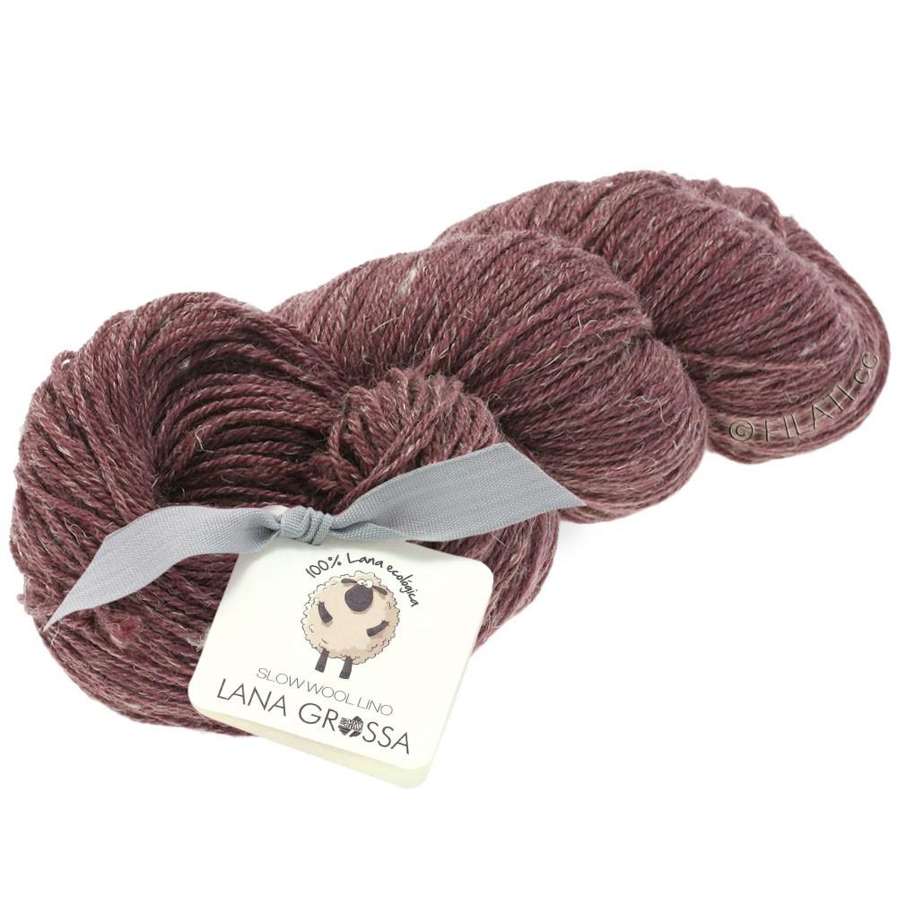 Lana Grossa SLOW WOOL LINO | 15-Burgund
