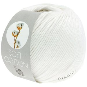 Lana Grossa SOFT COTTON | 10-Weiß