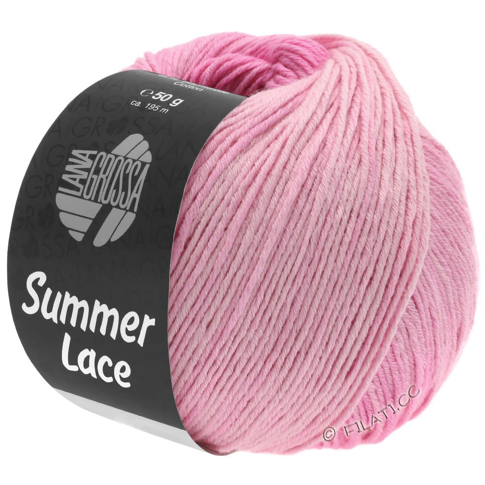 Lana Grossa SUMMER LACE DEGRADÉ | 101-Puder/Rosa/Nelke