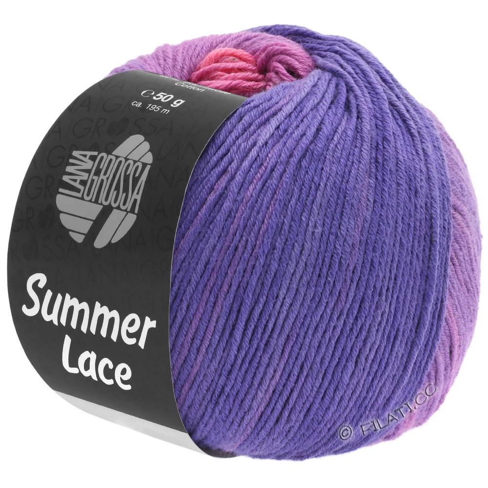 Lana Grossa SUMMER LACE DEGRADÉ | 102-Rosa/Flieder/Lila/Blauviolett