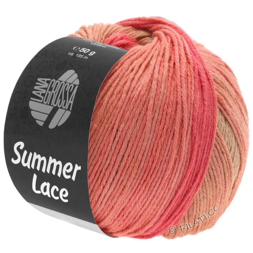 Lana Grossa SUMMER LACE DEGRADÉ | 105-Pfirsich/Himbeer/Sand