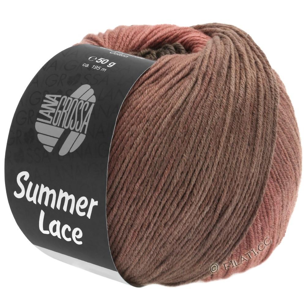Lana Grossa SUMMER LACE DEGRADÉ | 106-Terracotta/Schokobraun/Beigebraun