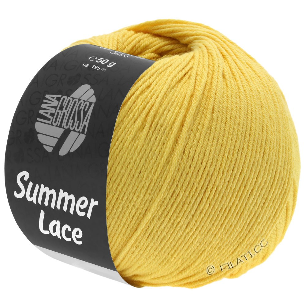 Lana Grossa SUMMER LACE | 09-Gelb