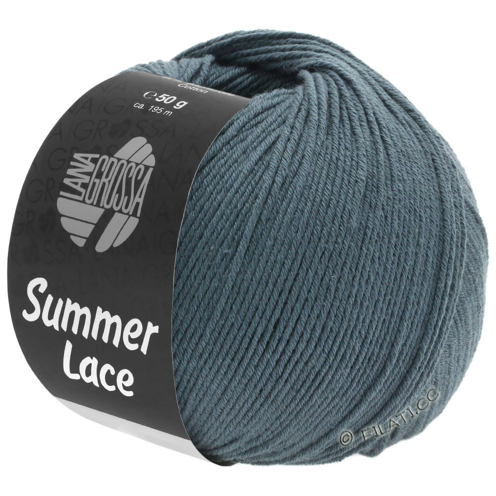Lana Grossa SUMMER LACE | 13-Schiefer