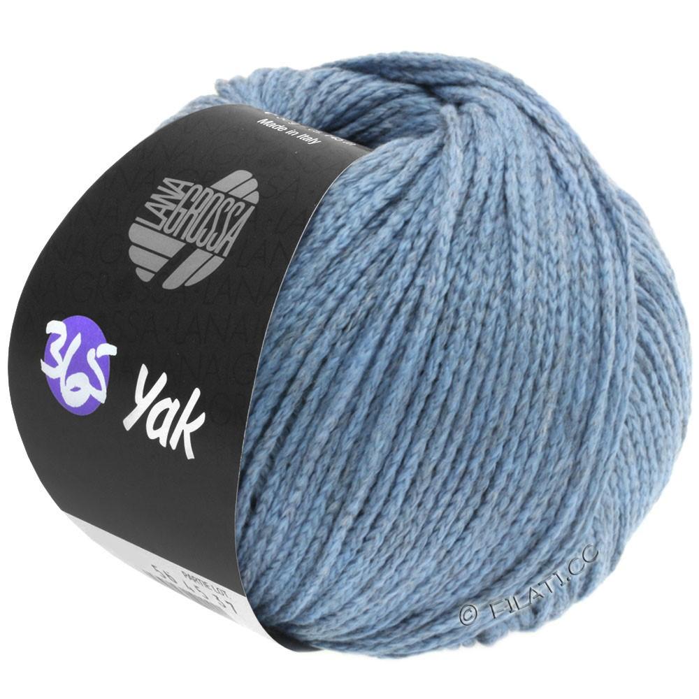 Lana Grossa 365 YAK | 10-Jeans/Grau