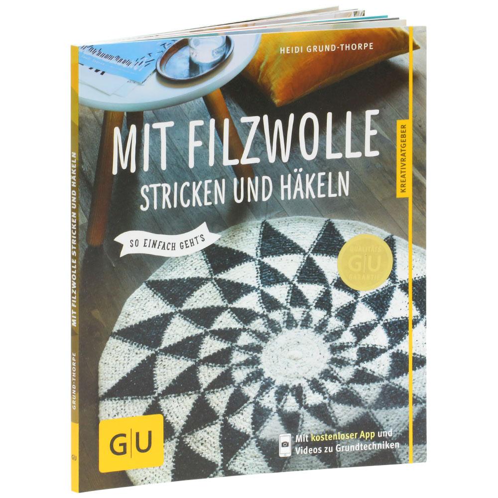 Lana Grossa Mit Filzwolle Stricken Und Häkeln Mit Filzwolle