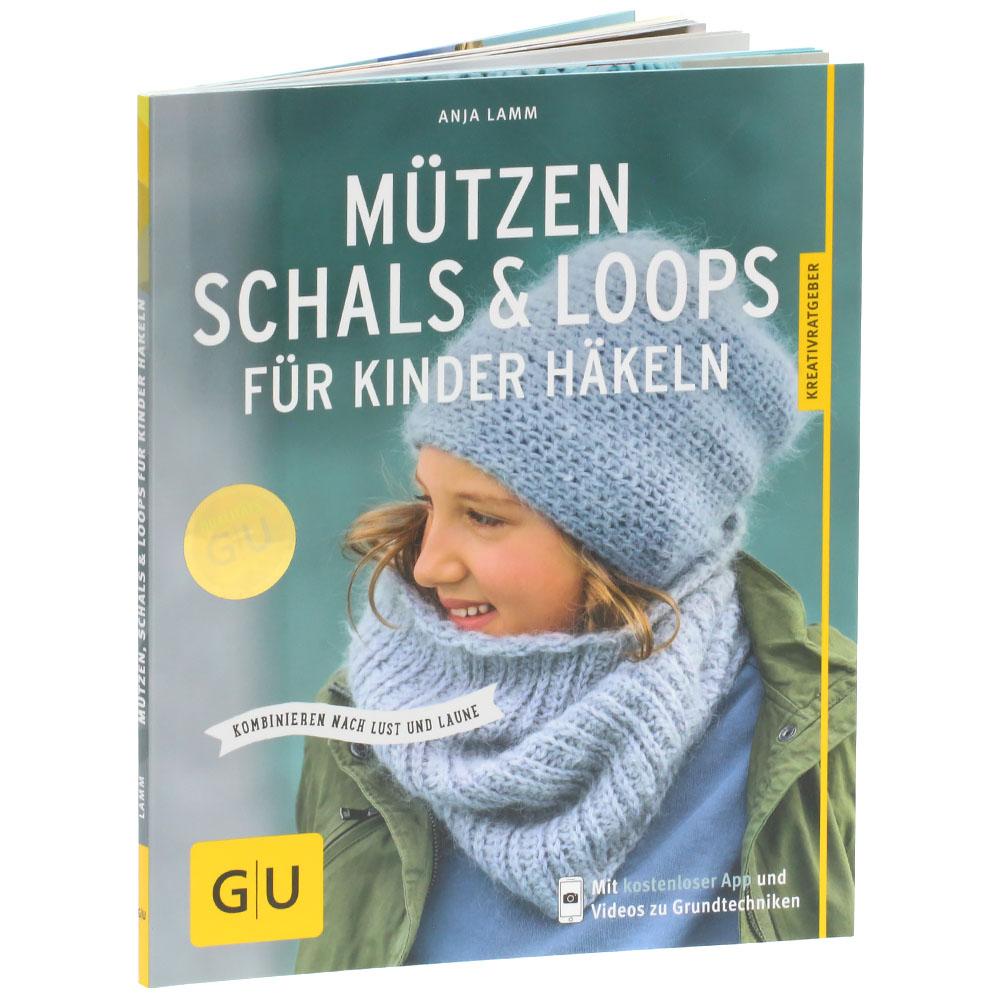 Lana Grossa Mützen Schals Loops Für Kinder Häkeln Mützen