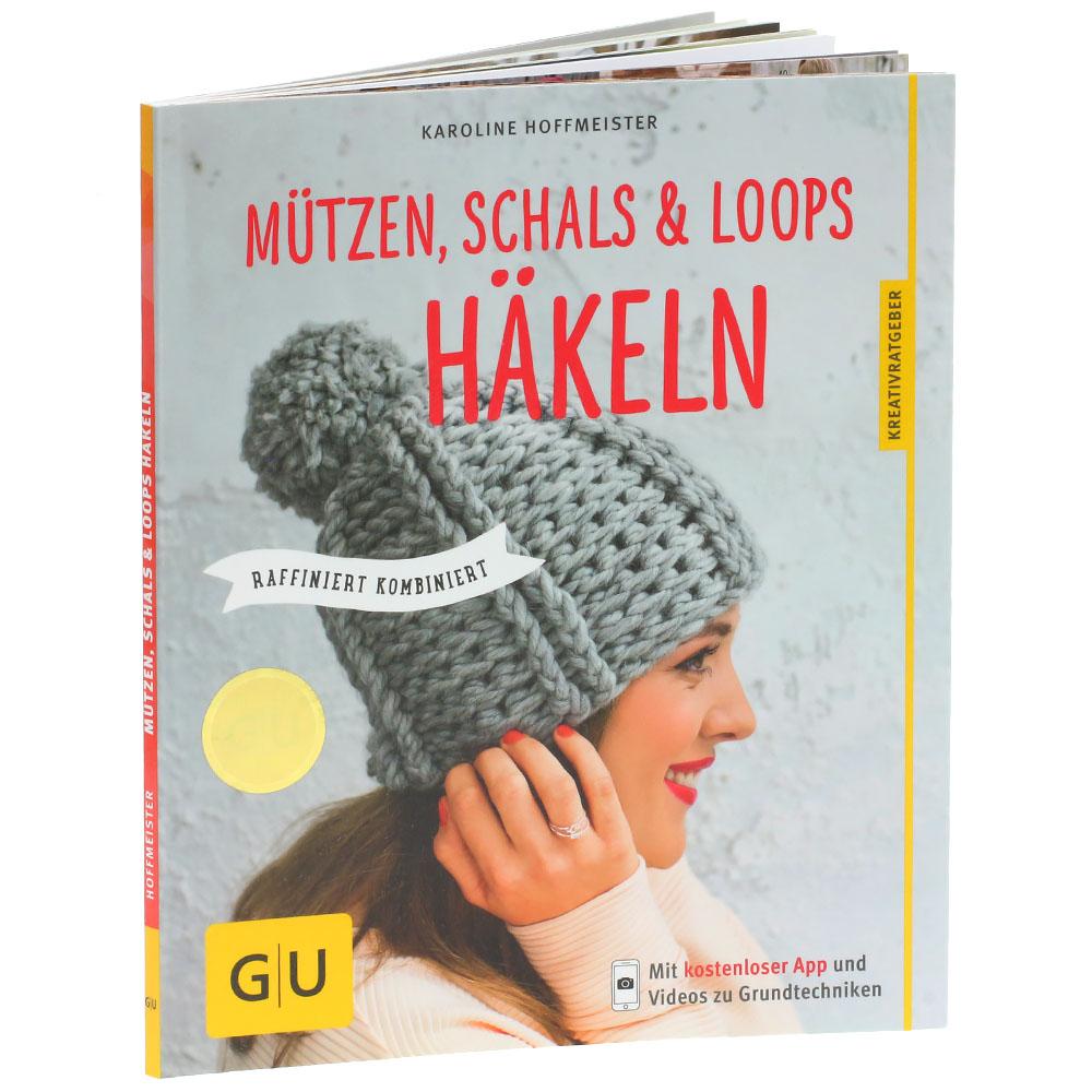 Lana Grossa Mützen Schals Loops Häkeln Mützen Schals Loops