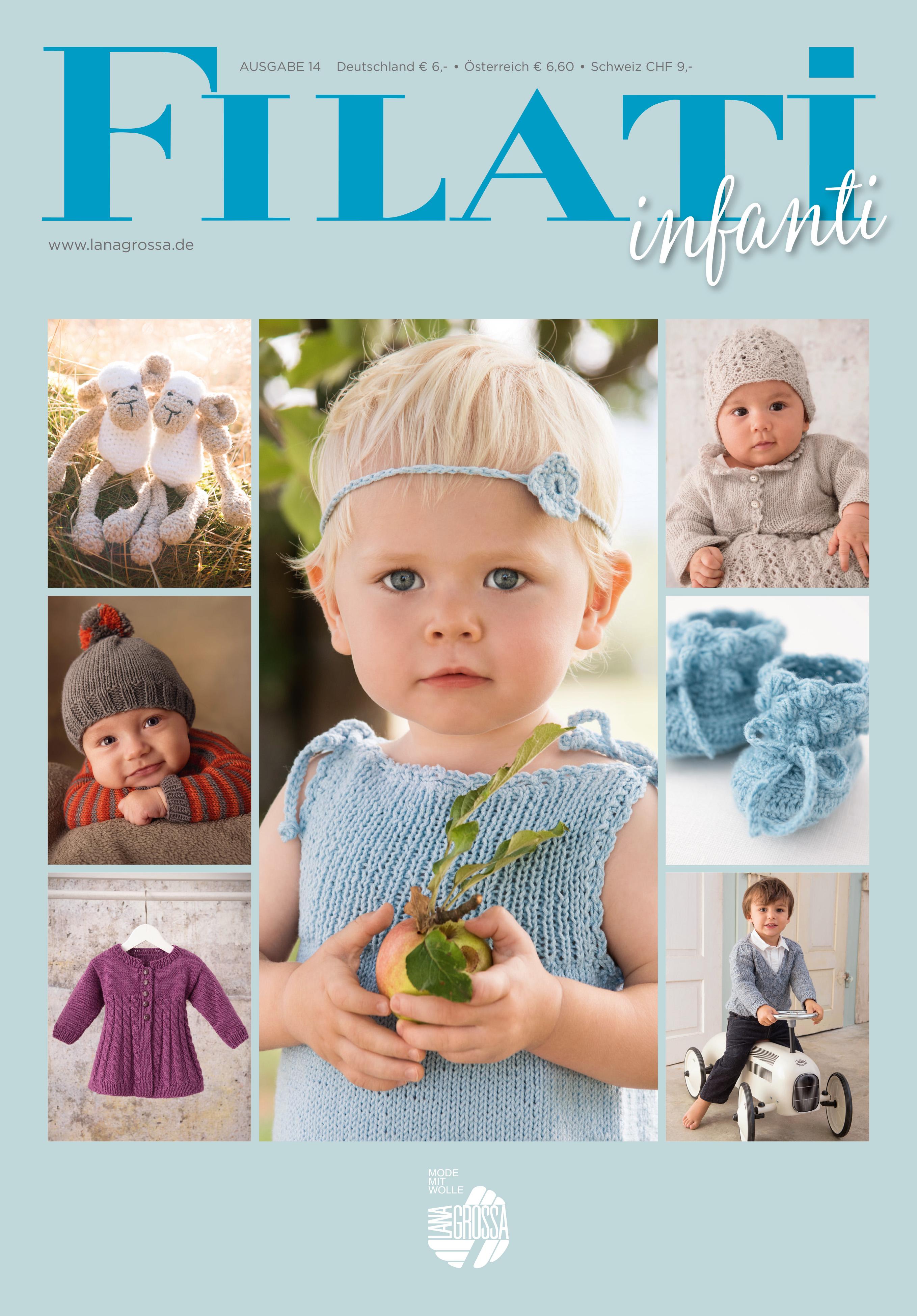 Babys Filati Linea Pura Special Ausgabe 2 Stricken Kleinkinder,44 Anleitungen