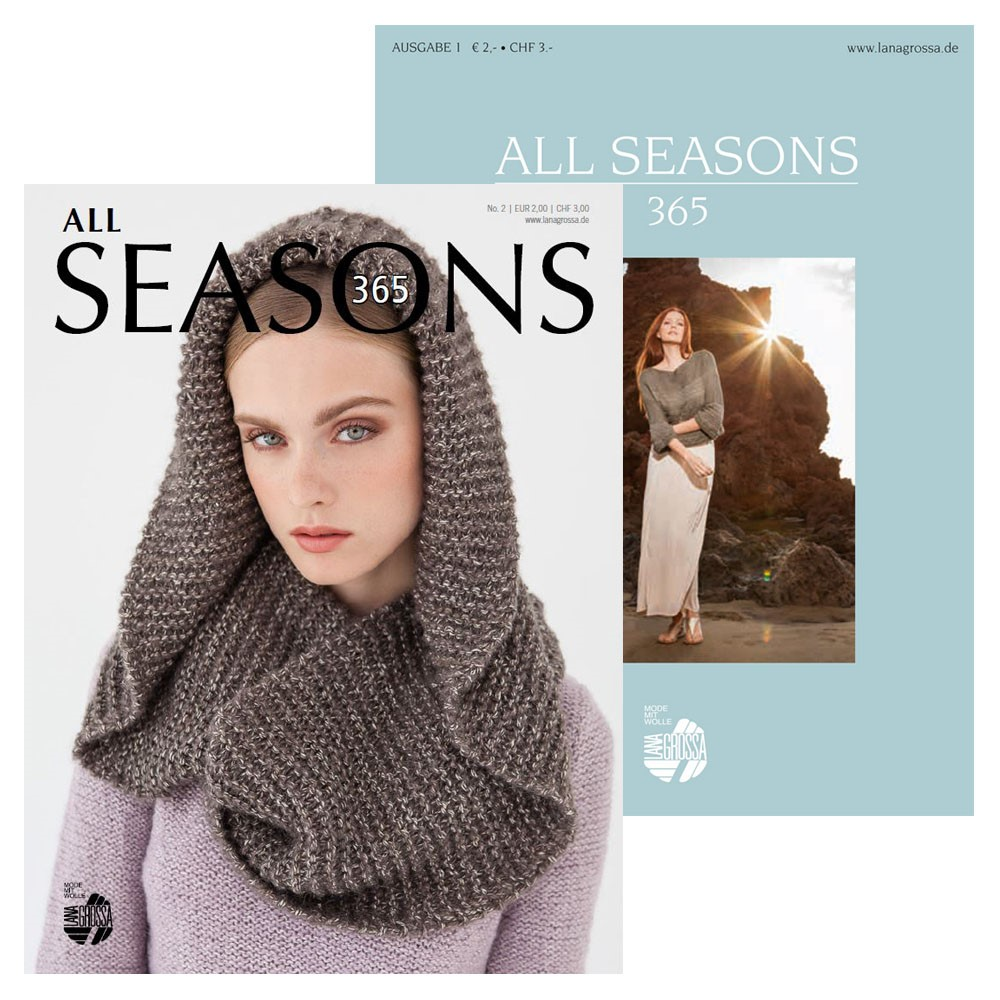 Lana Grossa ALL SEASONS 365 No. 1+2