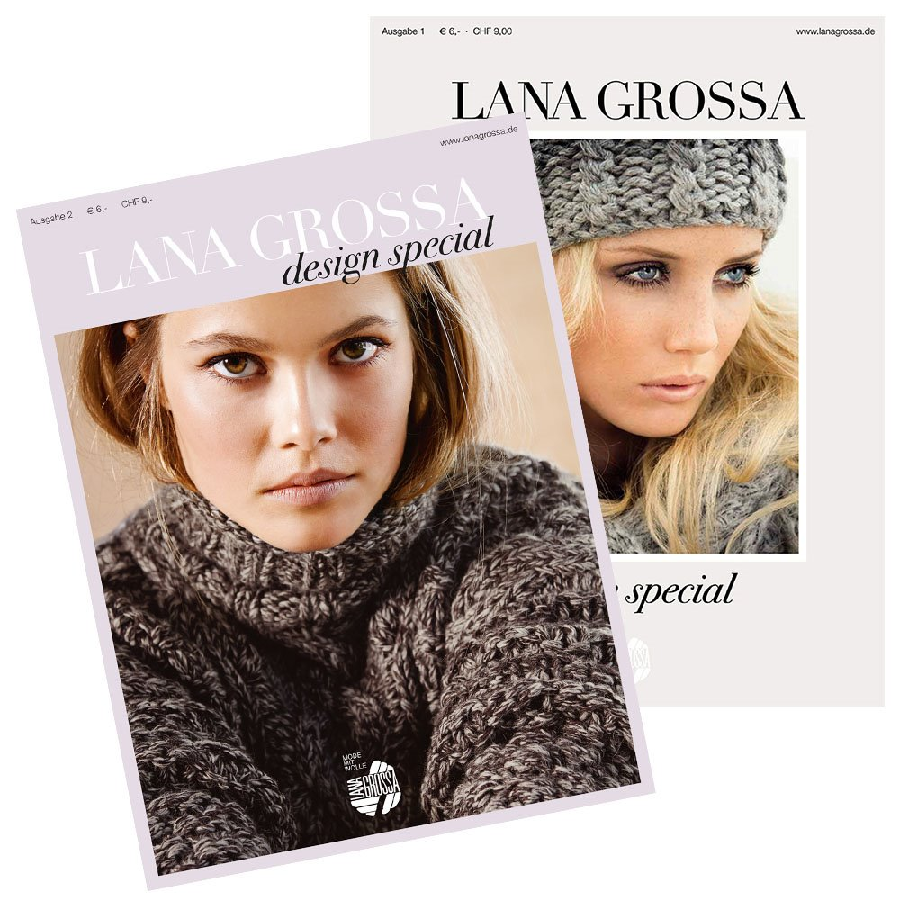 Lana Grossa Design Special No. 1, 2 und 4