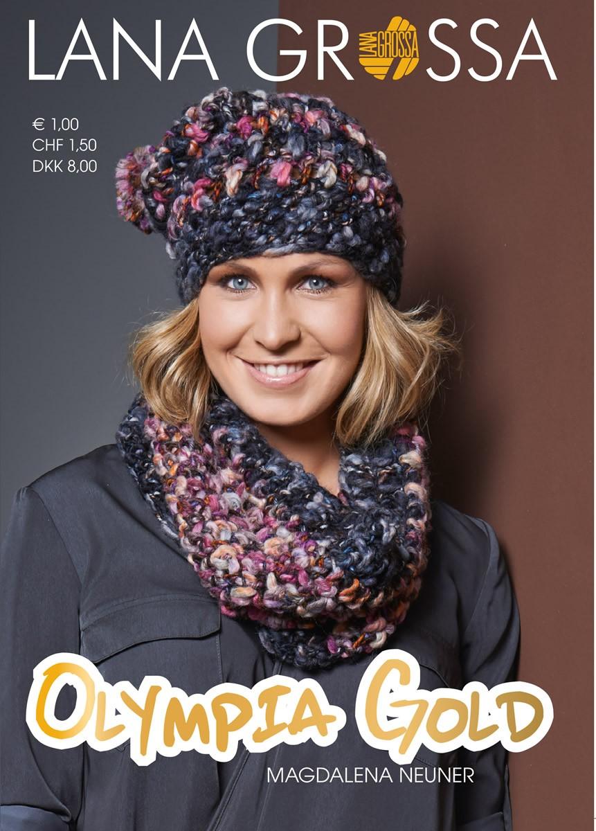 Lana Grossa OLYMPIA Folder-GOLD (DK)