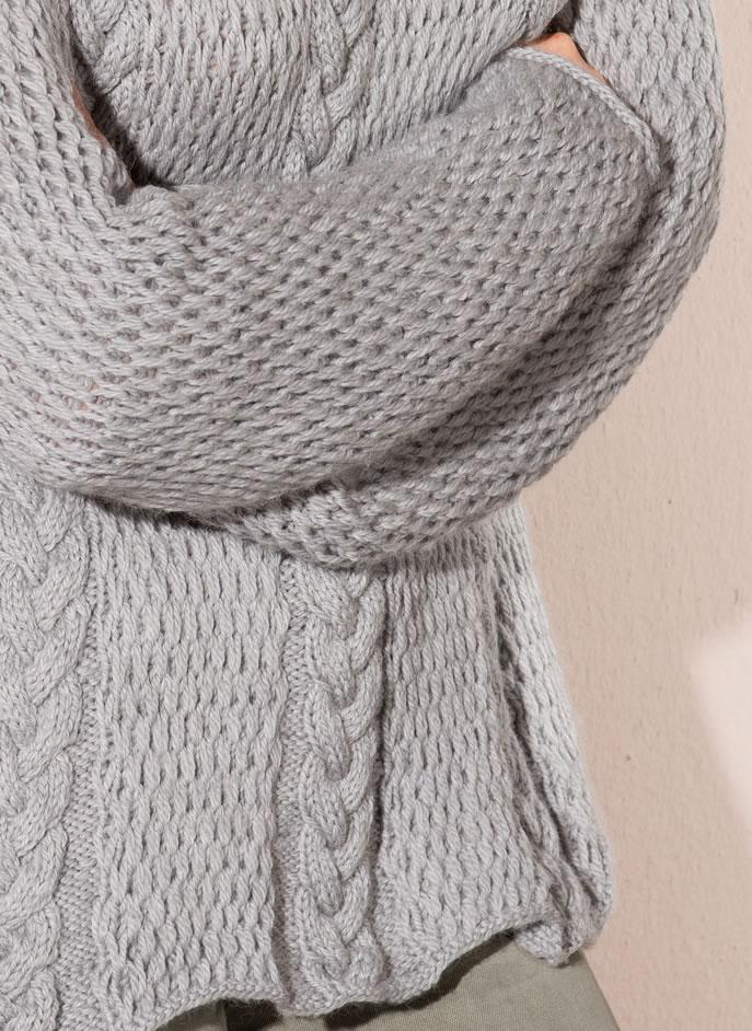 Lana Grossa Pulli Cool Wool Alpaca Filati Classici No 8 Modell